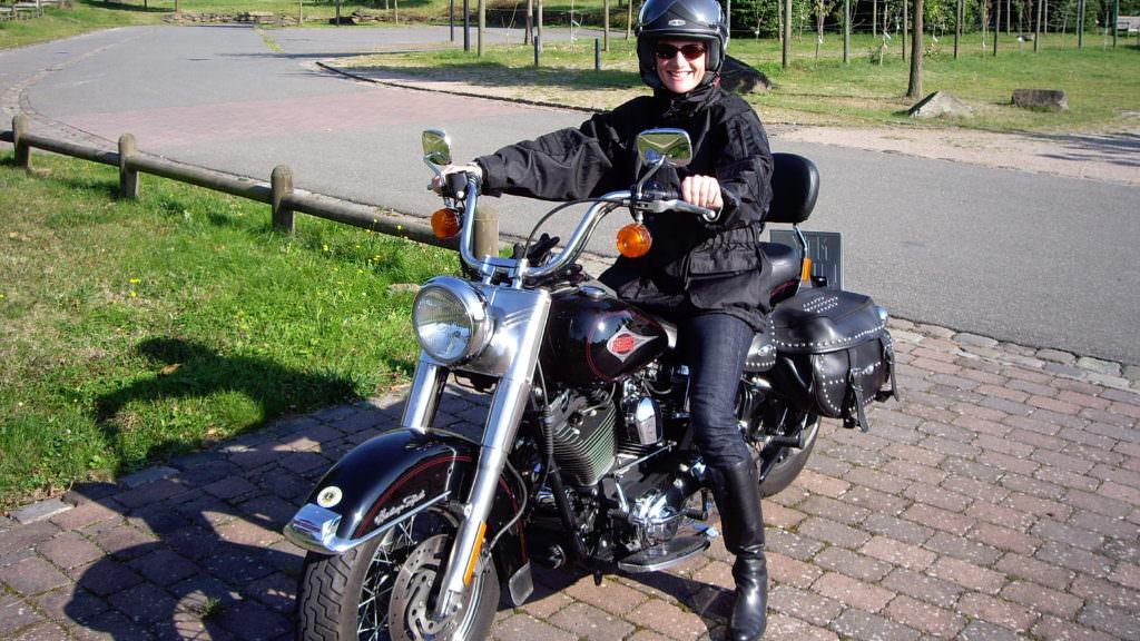 Motorrad als Firmenwagen